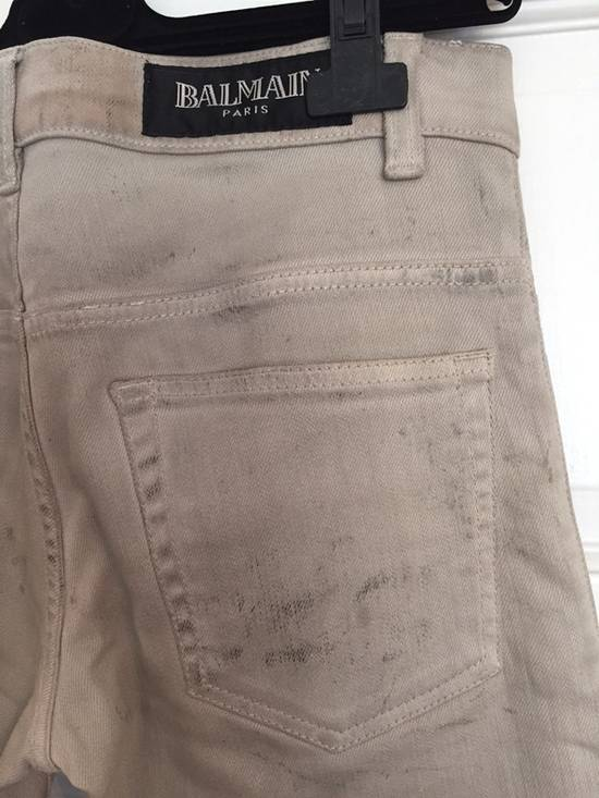 "Balmain FW11 Decarnin ""Dirty"" Slim Jeans. (fit 28) Size US 29 - 8"