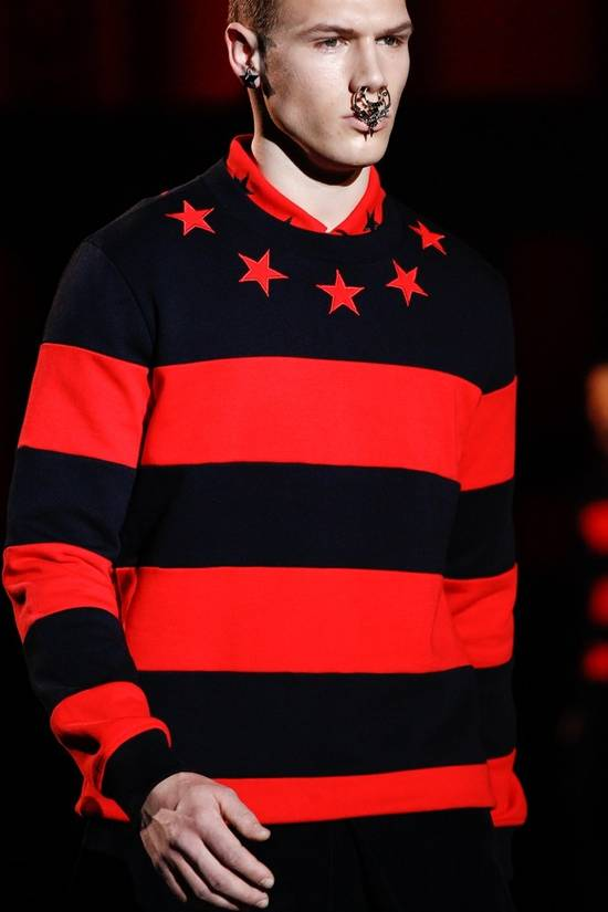 Givenchy Red Stars and Stripes Sweater Size US XS / EU 42 / 0 - 1