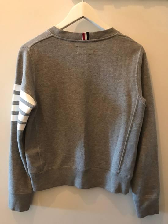 Thom Browne Grey Classic Lounge Sweater Size US XS / EU 42 / 0 - 1