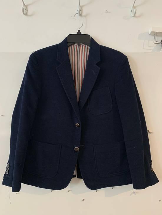 Thom Browne Navy Men's Velvet Two-button Blazer Size 36S - 8