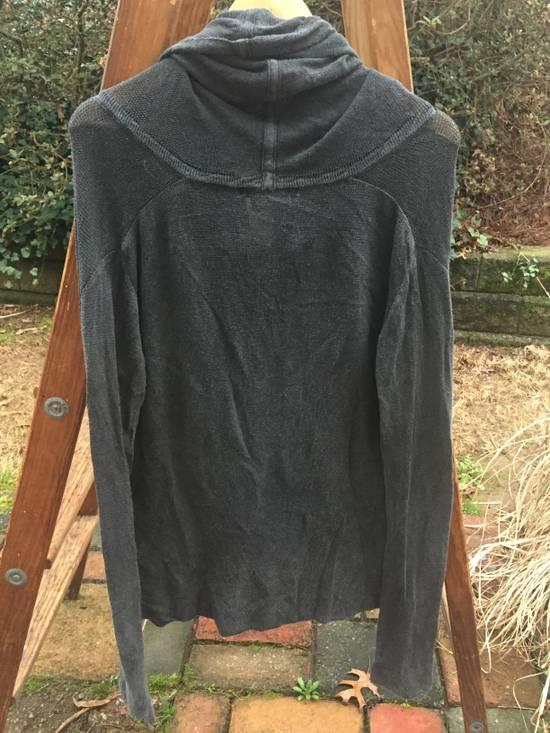 Julius SS08 Grey Yarn Cowl Neck Knit Sweater Size US M / EU 48-50 / 2 - 5