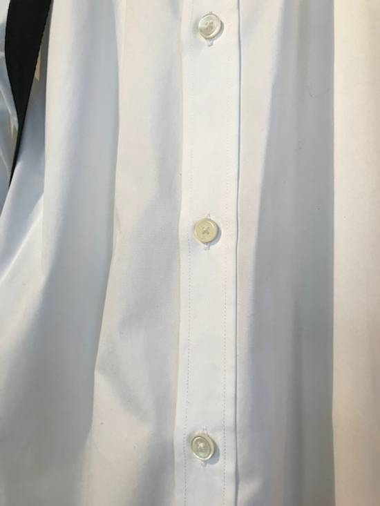 Givenchy Givenchy White Harness Straps Button Down Shirt Size US M / EU 48-50 / 2 - 7