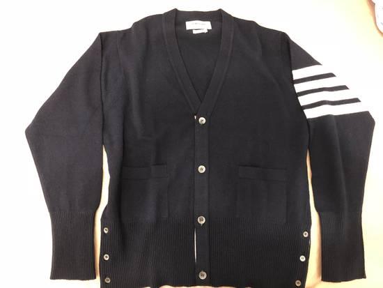 Thom Browne 4 bar cashmere cardigan Size US XXL / EU 58 / 5