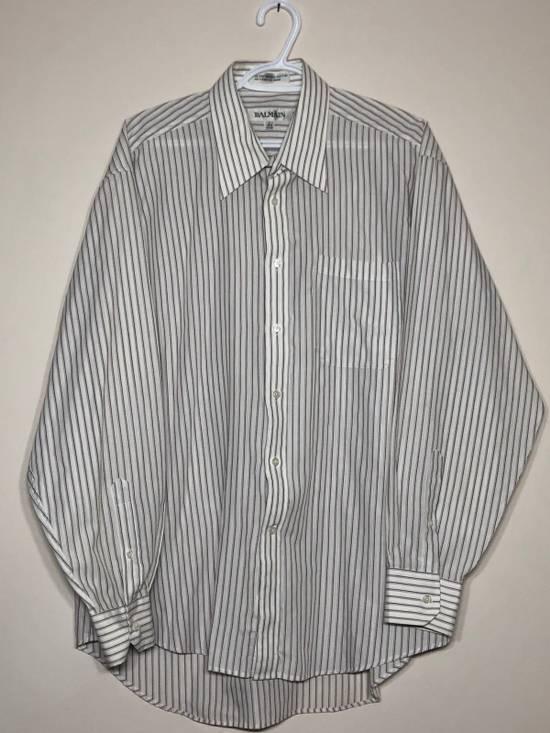 Balmain Long Sleeve Pin Stripe Button up Size US L / EU 52-54 / 3