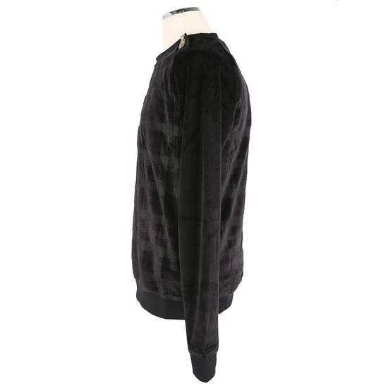 Balmain Size Small - Checked Button Shoulder Sweatshirt- FW16 - $1050 Retail Size US S / EU 44-46 / 1 - 15