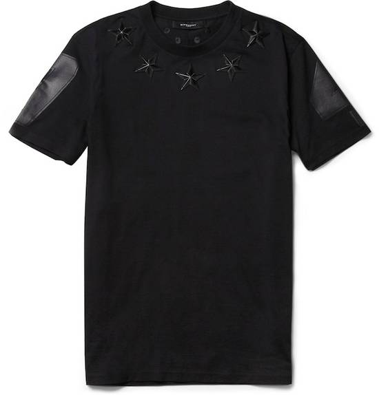 Givenchy Black Metal Stars T-shirt Size US XS / EU 42 / 0 - 3