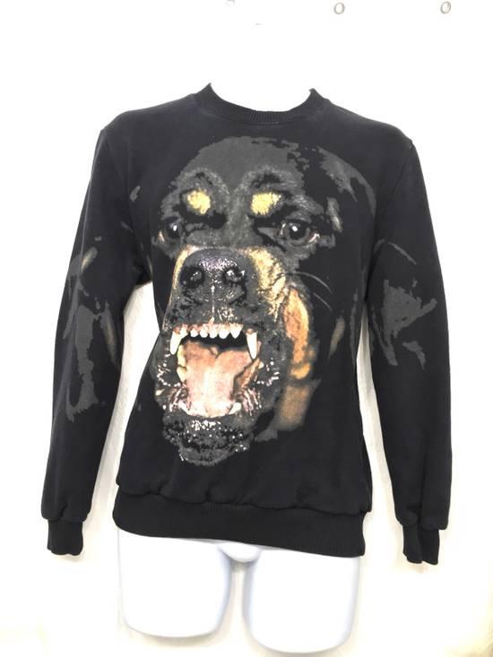 Givenchy Givenchy Black Rottweiler Long Sleeve Crewneck Sweater Size US S / EU 44-46 / 1