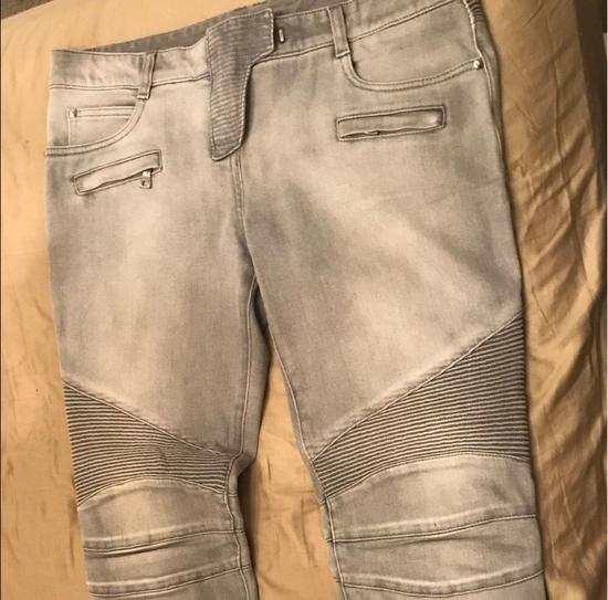 Balmain Balmain Gray Women Jeans Size US 30 / EU 46 - 6