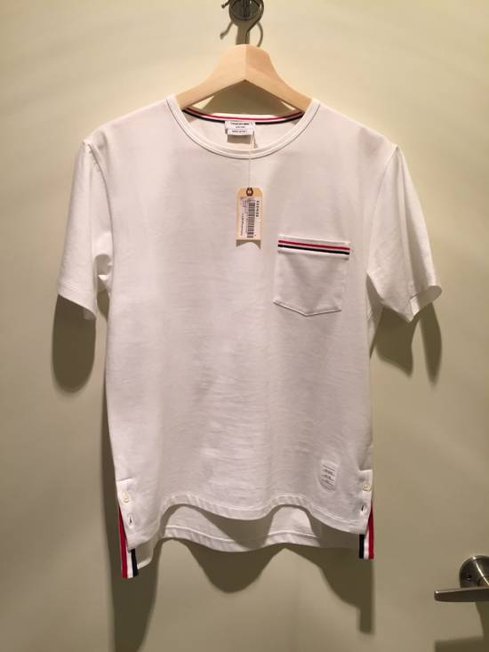 Thom Browne SS POCKET TEE MEDIUM WEIGHT JERSEY COTTON Size US S / EU 44-46 / 1