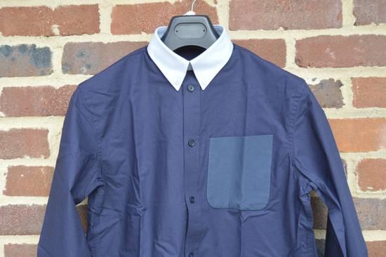 Givenchy Blue Contrast Pocket Shirt Size US S / EU 44-46 / 1 - 3