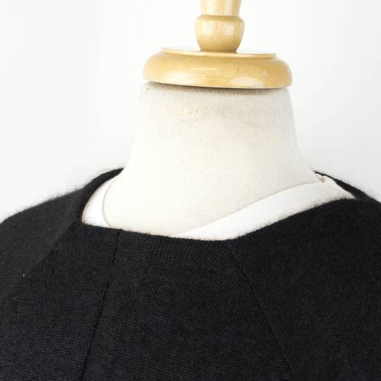 Julius 7 Black Silk-Mohair 'Square Neck Panelled' Sweater Size 1/XS Size US XS / EU 42 / 0 - 4