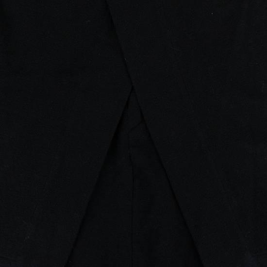 Julius 7 Black Cotton Asymmetric Layered Shorts Size S Size US 32 / EU 48 - 3