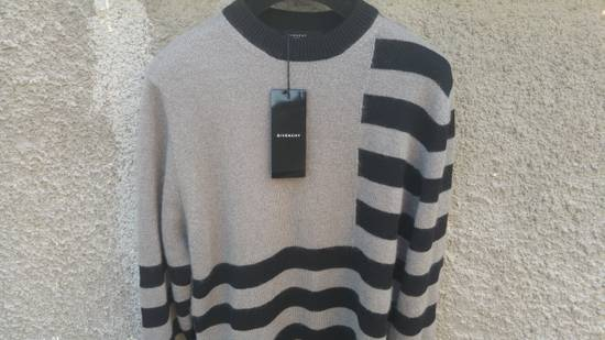 Givenchy Givenchy Striped Stars Wool and Mohair Cuban Fit Knit Sweater size XL (M / L) Size US XL / EU 56 / 4 - 6