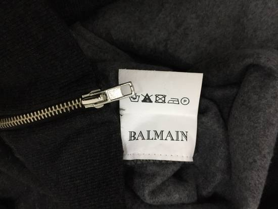 Balmain Balmain Paris Biker Sweatshirt Grey Japan 20x28 Size US M / EU 48-50 / 2 - 6