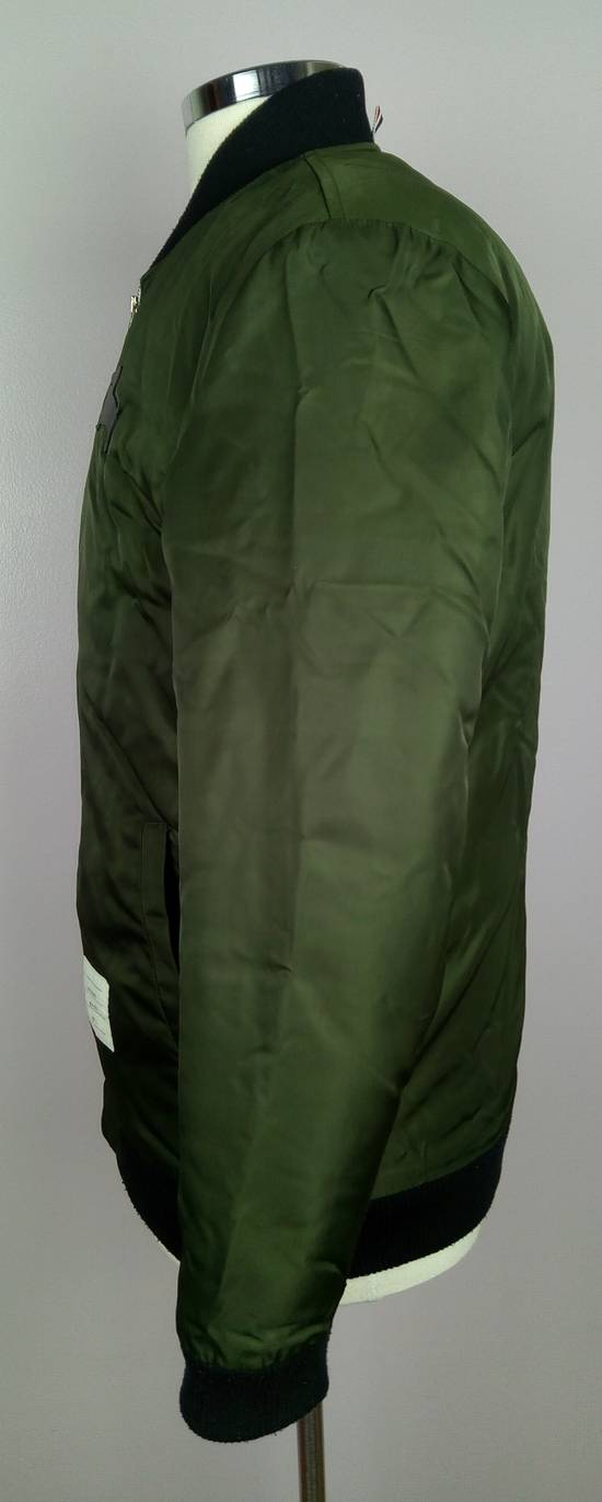 Thom Browne Bomber Jacket With Leather Dog Patch 3 / 42 / L MINT Size US L / EU 52-54 / 3 - 3