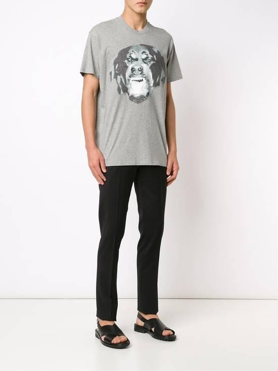 Givenchy Grey Felt Rottweiler T-shirt Size US XXS / EU 40 - 2