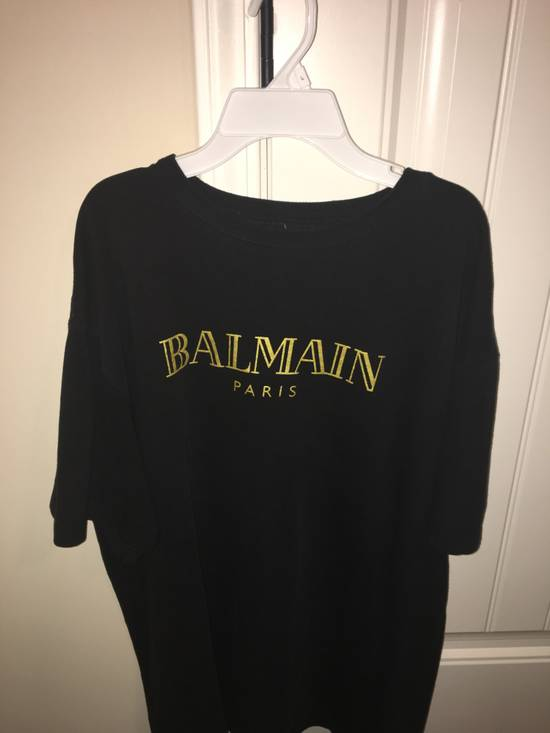 Balmain Balmain Black and Gold Tee Size US XL / EU 56 / 4