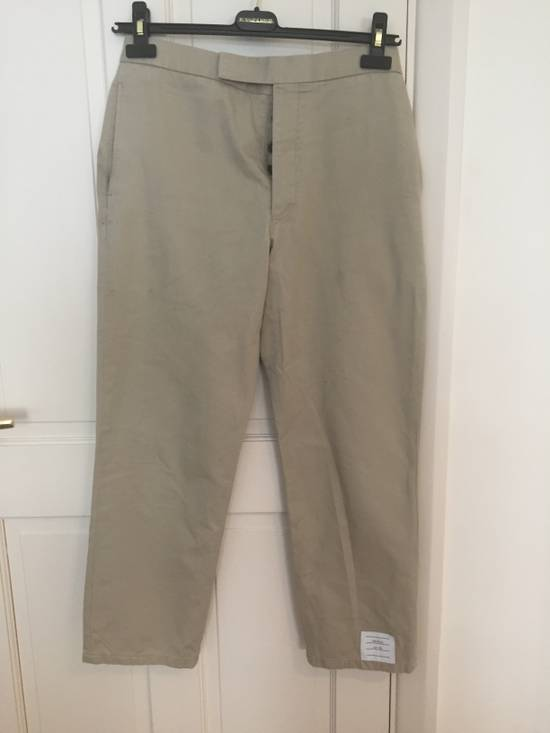 Thom Browne RRP$760 chinos with cosgrain Size US 30 / EU 46 - 1