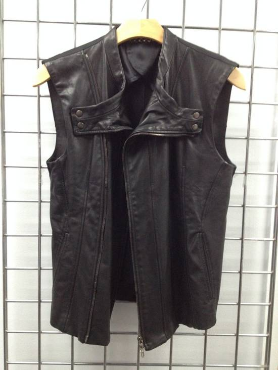 Julius LEATHER BIKER VEST Size US S / EU 44-46 / 1