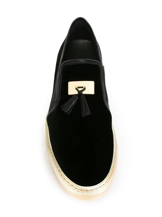 Balmain Men's Black Tasseled Velvet Slip-on Sneakers (BN) Size US 11 / EU 44 - 3