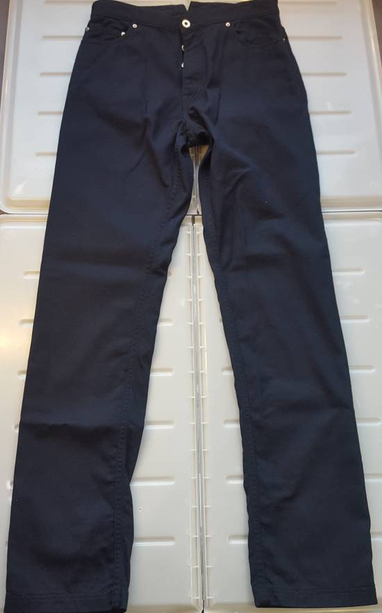 Thom Browne Navy Back-strap Trousers RB2 Size US 30 / EU 46 - 2