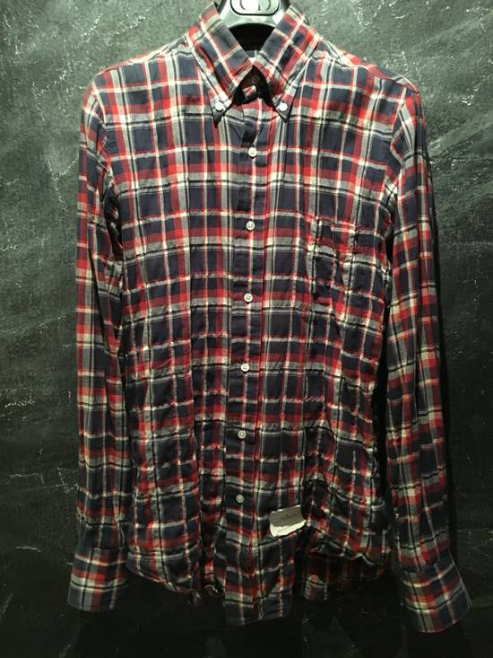 Thom Browne Plaid Madras Shirt Small Medium Size 1 Size US S / EU 44-46 / 1