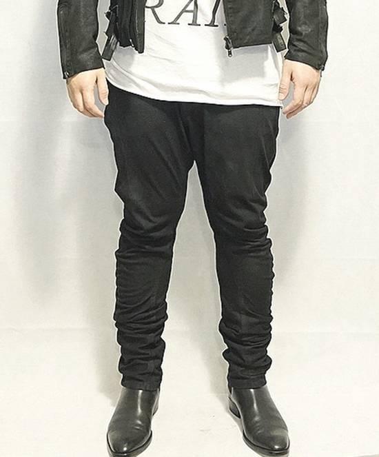 Julius Exclusive BSM x Julius Coated Curved Jeans Size US 33 - 1