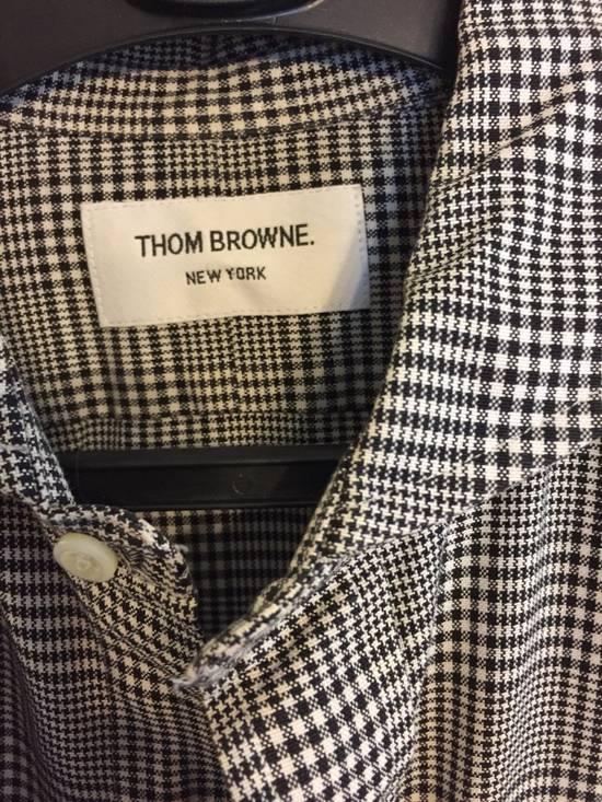 Thom Browne Cotton Checkered Shirt Size US L / EU 52-54 / 3 - 1