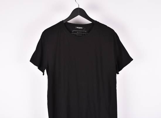Balmain Paris Men Black Crew Neck T-Shirt, NWT Size US XL / EU 56 / 4 - 1