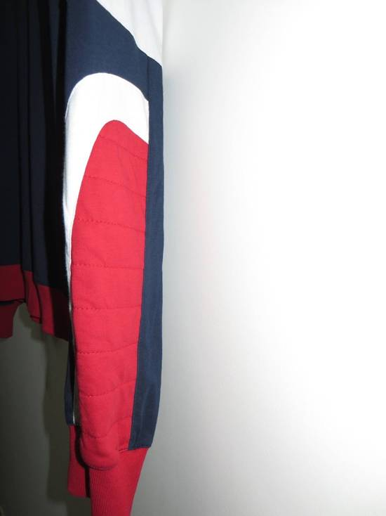 Balmain Panelled cotton biker hoodie Size US XS / EU 42 / 0 - 2