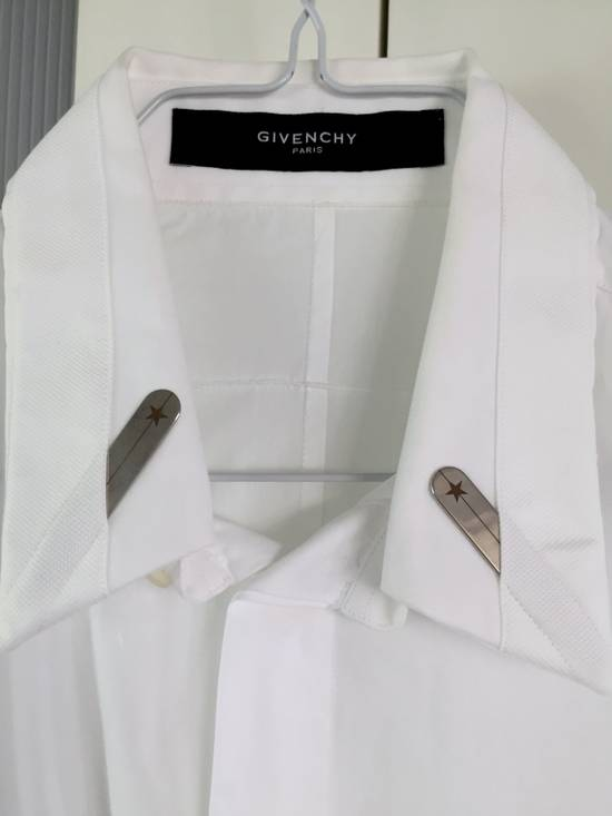 Givenchy Classical white Shirt with branded collar stiffener Size US S / EU 44-46 / 1 - 1