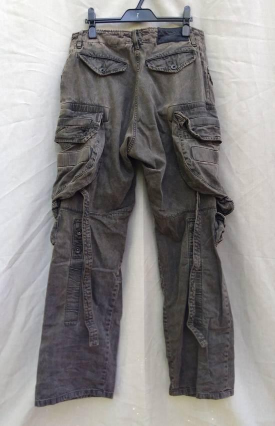 Julius Green Denim Gas Mask Cargo Pants s/s 13 Size US 31 - 7