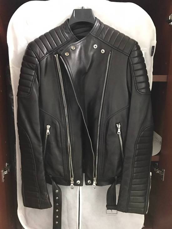 Balmain Signiture Biker Jacket - Sz. 44/xs Size US S / EU 44-46 / 1 - 1