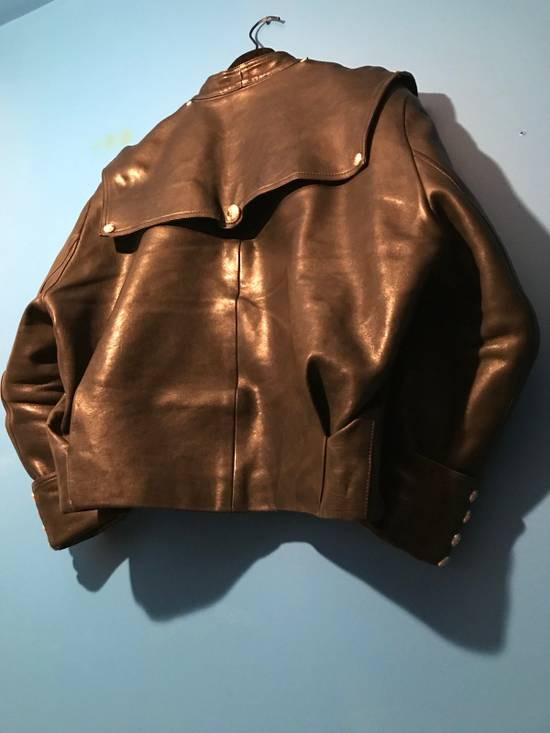 Balmain Lambskin Gold Button Detail Jacket Size US L / EU 52-54 / 3 - 10