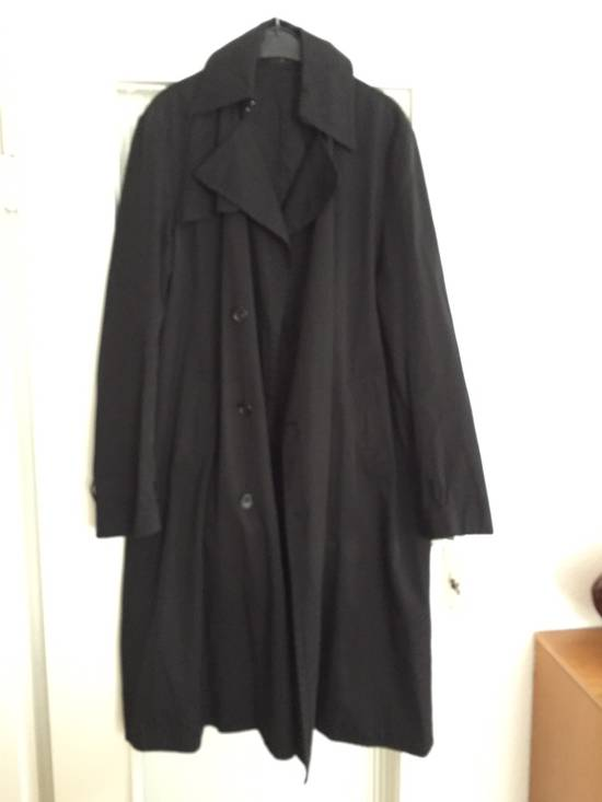 Julius Silk Blend Trench Coat Size US L / EU 52-54 / 3 - 1