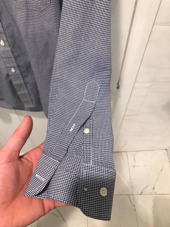 Givenchy Blue + White Button Up Size US M / EU 48-50 / 2 - 3