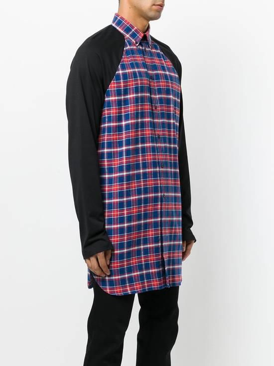 Givenchy Contrast Arms Plaid Shirt Size US XL / EU 56 / 4 - 2