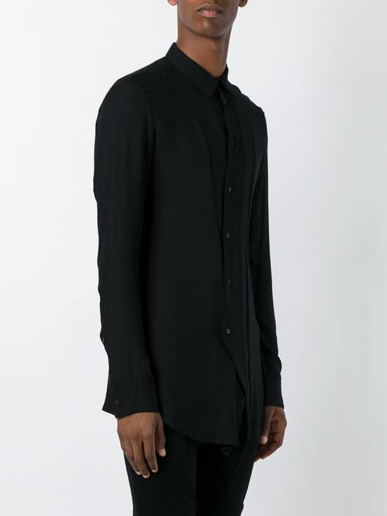 "Julius FW16 ""Beast"" Dislocated fastening shirt / asymmetrical shirt Size US M / EU 48-50 / 2 - 2"