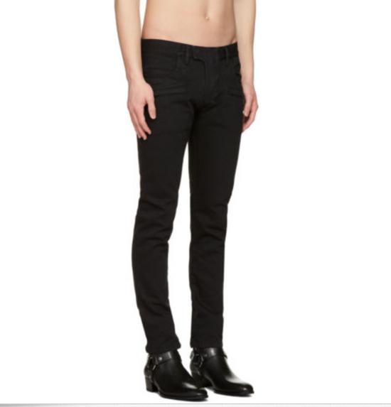 Balmain Balmain Black Biker Jeans Size US 32 / EU 48 - 2