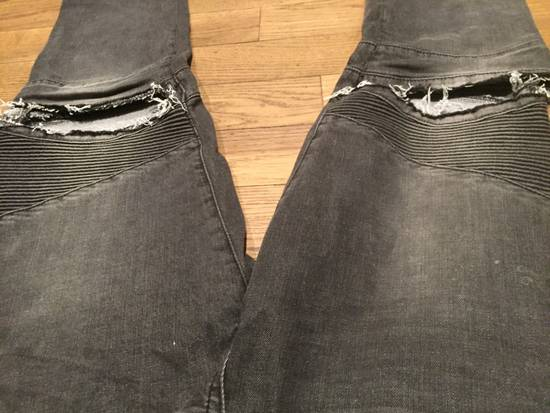 Balmain Balmain Custom Biker Jeans Size 32 Size US 32 / EU 48 - 1