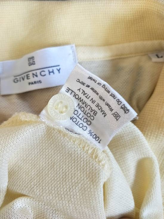 Givenchy France Designer / Vtg Classic Givenchy Paris GC / Yellow Pocket Embroidered Logo / Made In Italy / Excellent Condition / Large Size Size US L / EU 52-54 / 3 - 2