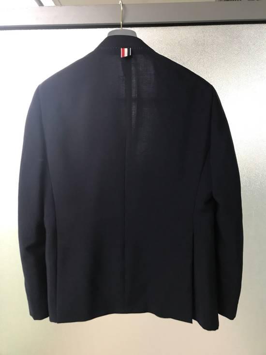Thom Browne Mohair blend Navy Blazer - Final Price Drop Size 38R - 2