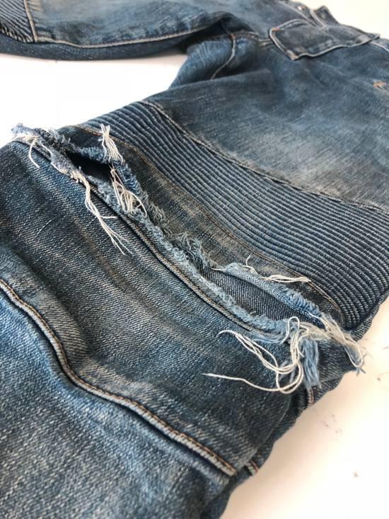 Balmain balmain biker ripped jean Size US 32 / EU 48 - 3