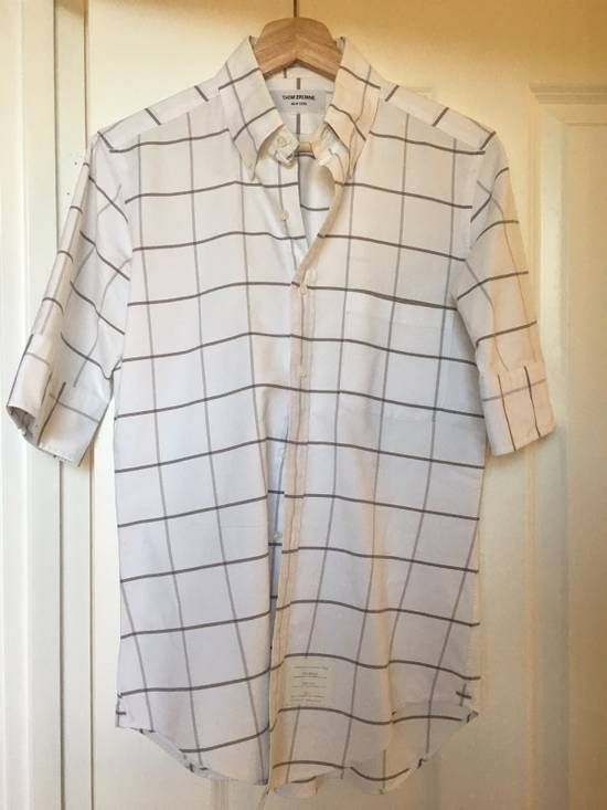 Thom Browne Short Sleeves Oxford Shirt Size 1 Size US S / EU 44-46 / 1