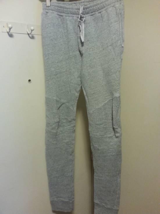 Balmain Biker Sweat Trousers FW10 Size US 30 / EU 46 - 1