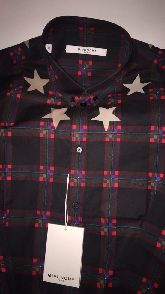 Givenchy Check Shirt Size US M / EU 48-50 / 2 - 1