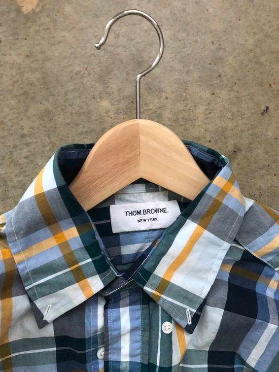 Thom Browne Plaid Shirt Size US M / EU 48-50 / 2 - 2