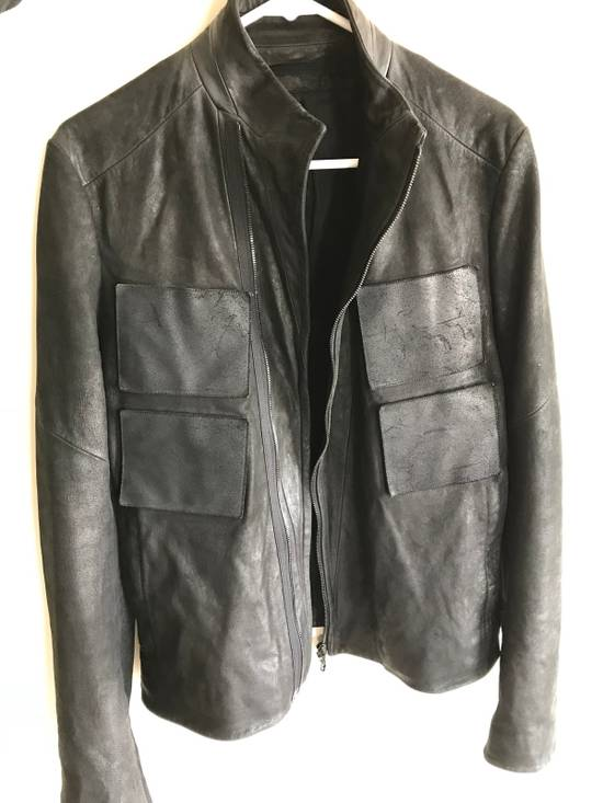 Julius julius_7 patchwork nubuck lambskin leather jacket Size US S / EU 44-46 / 1