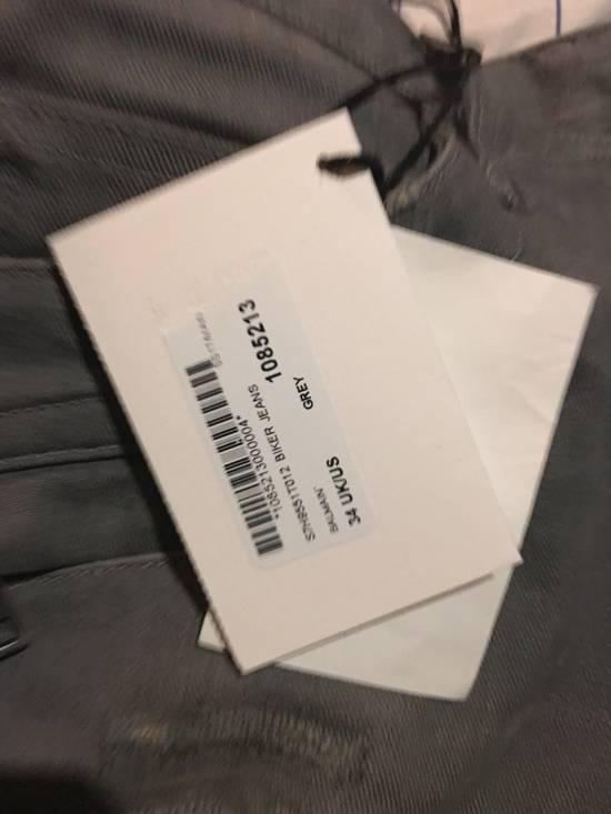 Balmain Balmain grey biker jeans Size US 34 / EU 50 - 11