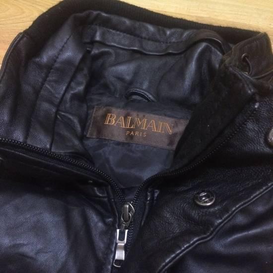 Balmain Balmain Leather Puffer Vest Size US S / EU 44-46 / 1 - 1